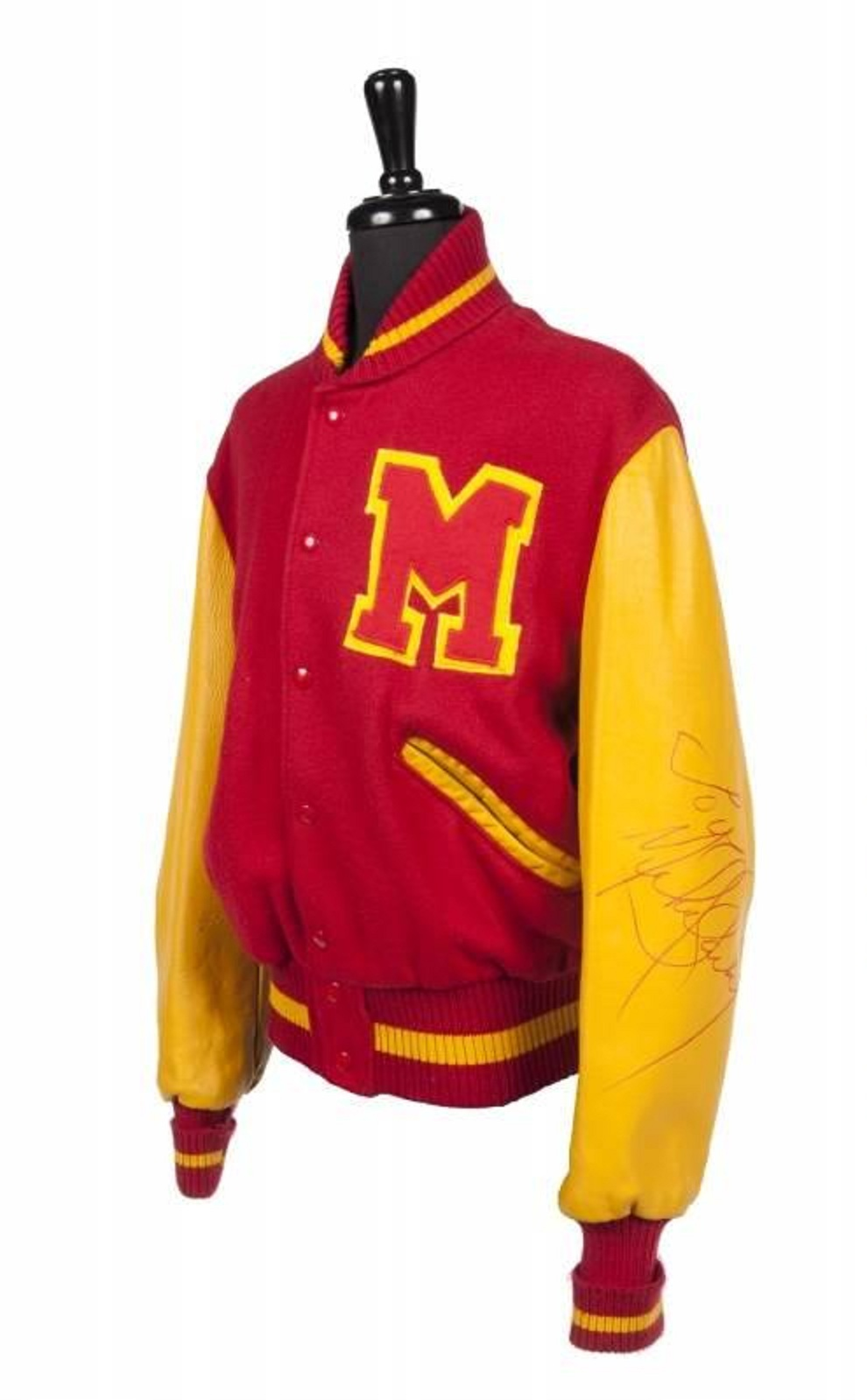 new Letterman jacket